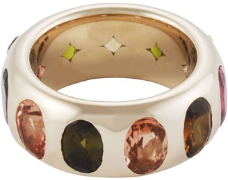 Lo Spazio Jewelry Lo Spazio Multi Colored Tourmaline Ring