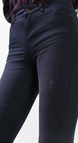 Esprit OUTLET skinny jeans w frayed hems