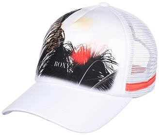 Roxy Dig This Trucker Hat (Snow White) Caps