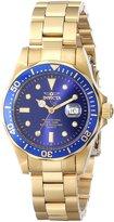 Invicta 4870 Women's Pro Diver Quartz Dial Gold Plated Steel Dive Watch