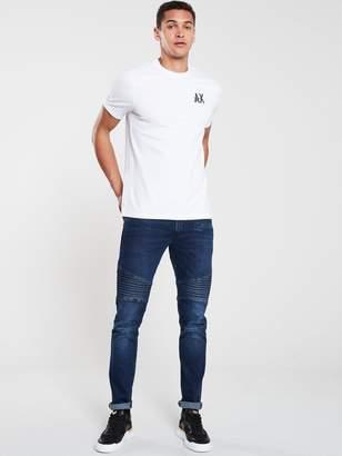 Armani Exchange Back Circle Logo T-Shirt - White