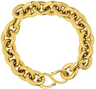 Deborah Blyth Gold Chunky Chain Bracelet