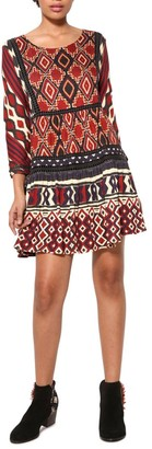 Desigual Women's Fanmal Woman Knitted 3/4 Sleeve Dress