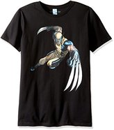 Marvel Men's Wolverine Claws Out Crewneck T-Shirt