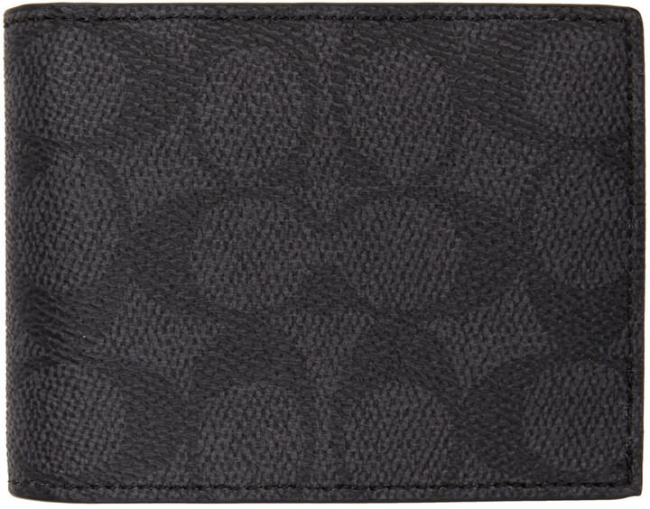 Coach 1941 Grey Slim Signature Wallet