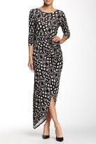 Loveappella Maxi Wrap Dress