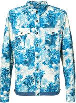 Moncler Trionphe shirt jacket - men - Cotton/Polyamide/Spandex/Elastane - 2