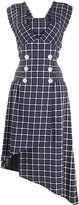 Three floor double buttoned Vernet dress