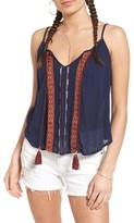 Band of Gypsies Women's Embellished Camisole