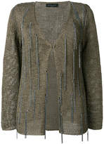 Fabiana Filippi embellished knitted cardigan