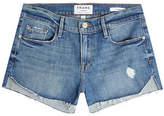 Frame Le Cutoff Tulip Denim Shorts
