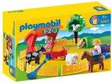 Playmobil 6963 1.2.3 Petting Zoo