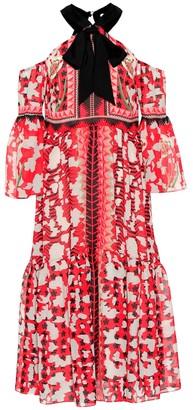 Temperley London Odyssey printed dress