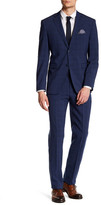 Original Penguin Sharkskin Two Button Notch Lapel Suit