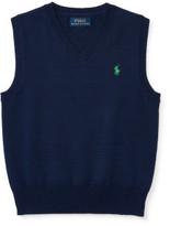 Polo Ralph Lauren Cotton Sweater Vest (2-4 Years)