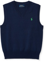 Polo Ralph Lauren Cotton Sweater Vest (2-7 Years)