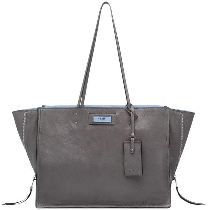 023d0eea17d03a Prada Gray Tote Bags - ShopStyle