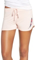 Junk Food Clothing Feather Print Lounge Short