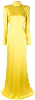 Alessandra Rich long sleeve full length dress