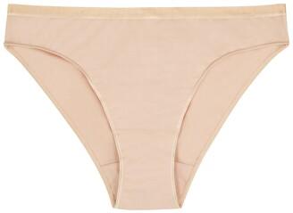 Hanro Sensation Blush Stretch-cotton Briefs