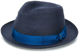 Borsalino Woven Hemp Sun Hat