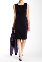 Anne Klein Printed Combo Sheath Dress