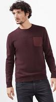 Esprit OUTLET jumper with canvas pocket