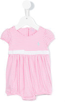 Ralph Lauren pleated T-shirt - kids - Cotton - 6 mth