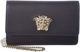 Versace Palazzo Leather Chain Evening Bag