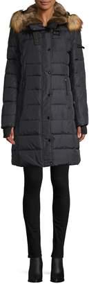 S13 S 13/Nyc Uptown Faux Fur Down Parka Coat