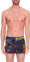 Bjorn Borg Two Pack Camo Stretch-cotton Trunks