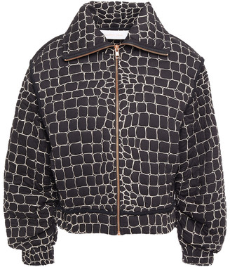 See by Chloe Embroidered Cotton Jacket