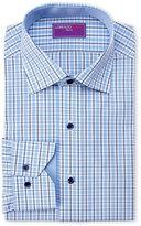 Lorenzo Uomo Plaid Dress Shirt