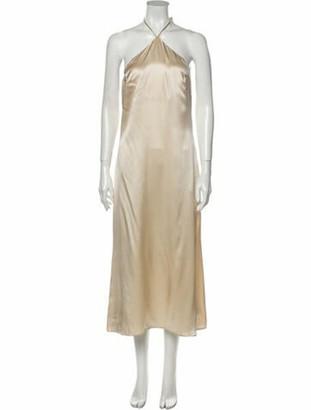 Reformation Silk Midi Length Dress w/ Tags