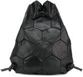 Trippen hexagon drawstring backpack