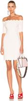 Fendi Off the Shoulder Mini Dress
