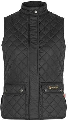 Belstaff Black Quilted Shell Gilet