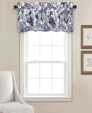 "Lush Decor Cynthia Jacobean Floral 52"" x 18"" Window Valance"