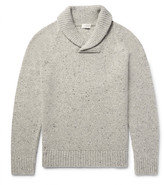 Club Monaco Shawl-Collar Wool-Blend Sweater