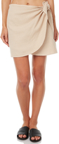 Element Wish Wrap Skirt Natural