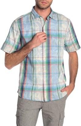 Tommy Bahama Fronde Dei Marmi Short Sleeve Button Down Shirt