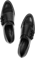 Alexander Wang Abbey leather monk-strap brogues