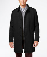 Kenneth Cole New York Wool-Blend Eapulet Walker Coat