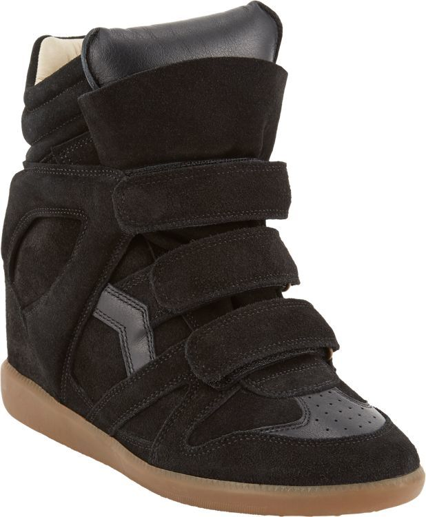 Etoile Isabel Marant Women's Bekett Sneakers-Black