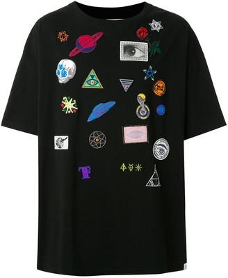 Facetasm layered T-shirt