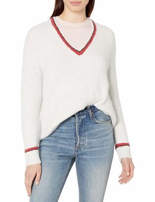 Velvet by Graham & Spencer Women's Simona Vneck Sweater