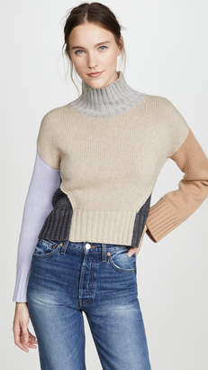 Naadam Chunky Funnel Neck Pullover