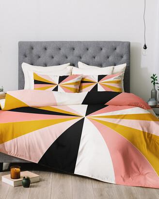 Deny Designs Caroline Okun Pinwheel Comforter Set