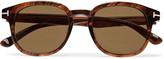 Tom Ford - Frank D-frame Tortoiseshell Acetate Sunglasses