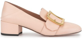 Bally Buckled 45mm Slip-On Pumps